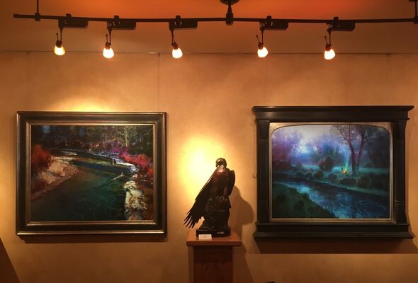 Brent Cotton: Capturing the Light, installation view