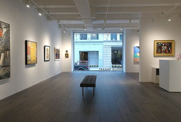 New Space, New Acquisitions, installation view