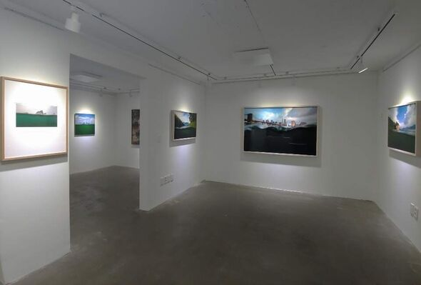 Amphibious Project: 양서류 프로젝트, installation view