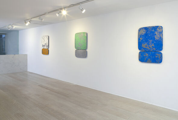 Nick Moss: Steel Shapes, installation view