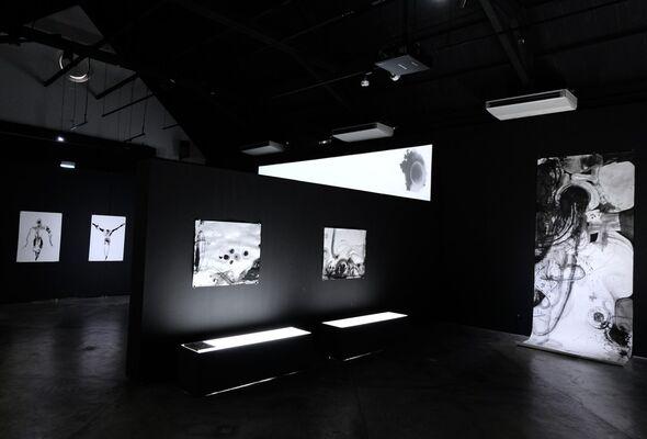 Stoicheîon ⾦星, installation view
