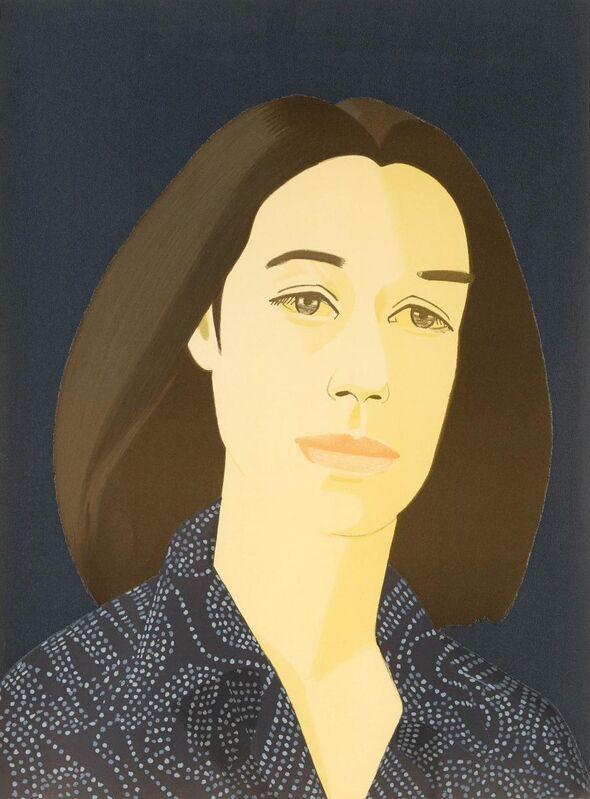 Alex Katz, 'Ada four times series', Print, Series of four colour silkscreens and lithographs on Arches, Van Ham
