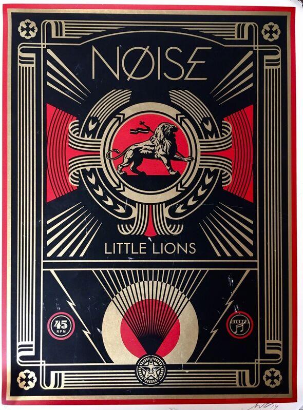 Shepard Fairey, 'NOISE', ca. 2014, Print, Art paper, AYNAC Gallery