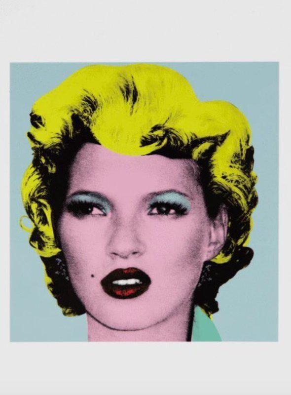 Banksy, 'Kate Moss (Crude Oils)', 2005, Other, Postcard, artrepublic