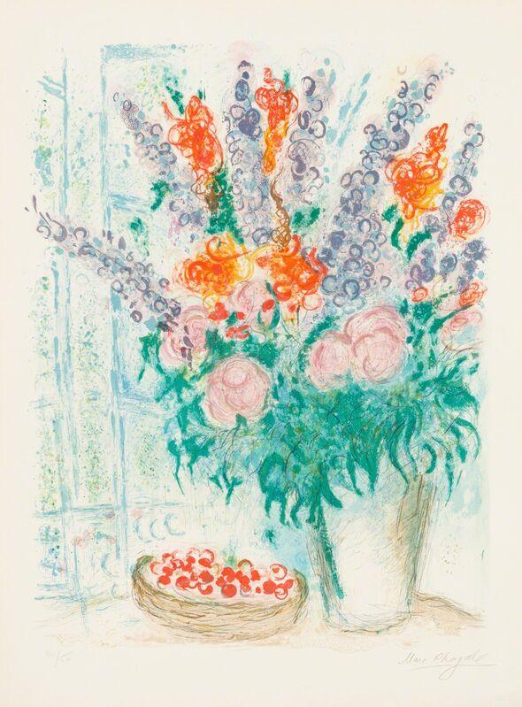 Marc Chagall, 'The Grand Bouquet', 1963, Print, Lithograph, Christopher-Clark Fine Art