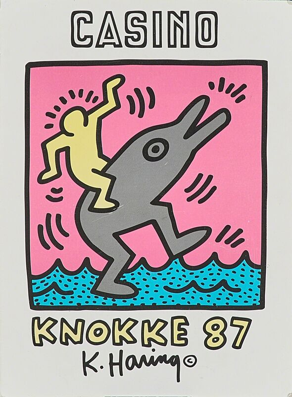 Keith Haring, 'Two works of art', Mixed Media, Rago/Wright