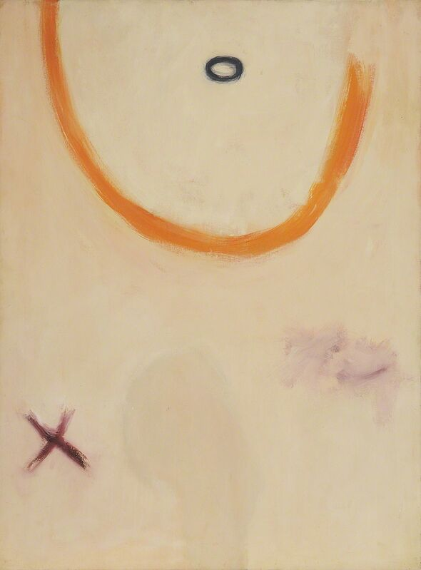 Janet Dawson, 'Cross to Oval', ca. 1960, Painting, Acrylic on canvas, Charles Nodrum Gallery