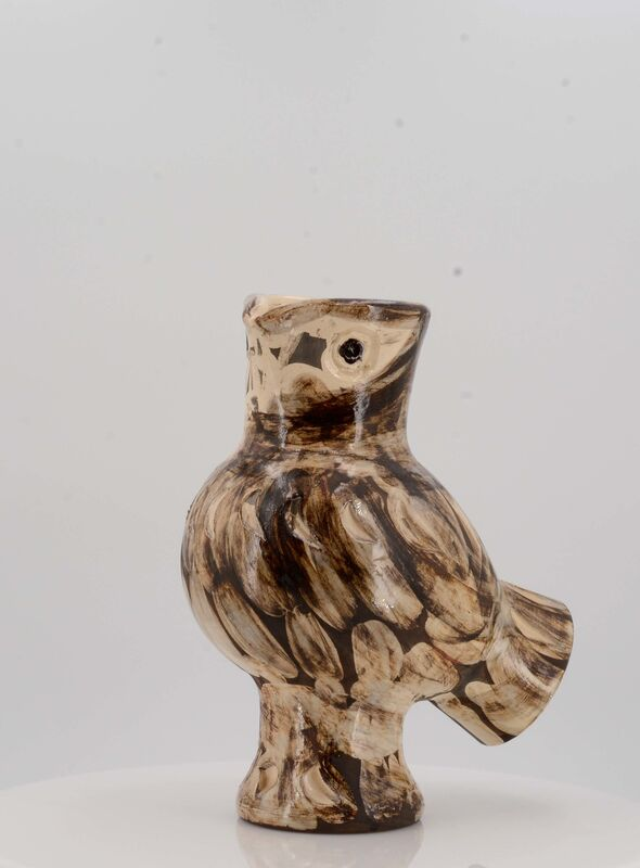 Pablo Picasso, 'Wood Owl', 1969, Design/Decorative Art, White earthenware clay, polychromed and partially glazed, Van Ham