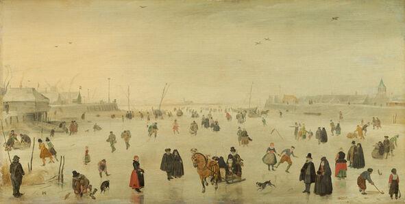 Hendrick Avercamp, 'A Scene on the Ice', ca. 1625