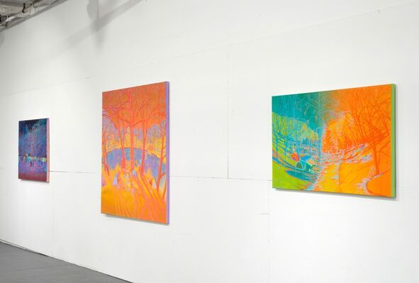 WE LOST OUR TAILS, installation view