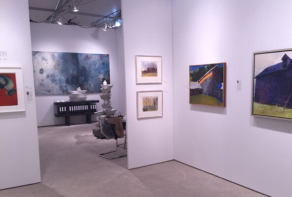 Jerald Melberg Gallery at Art Miami 2016, installation view