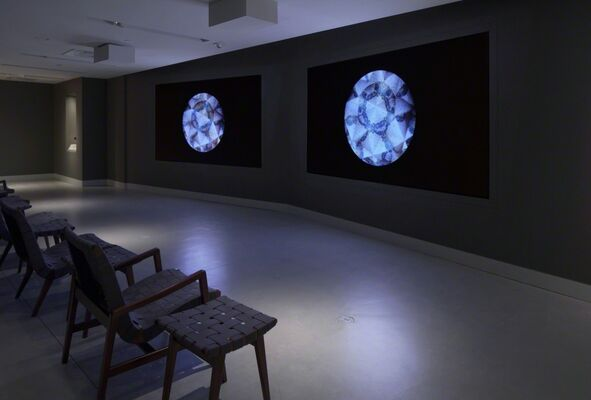 Sacred Spaces: Himalayan Wind and the Tibetan Buddhist Shrine Room, installation view