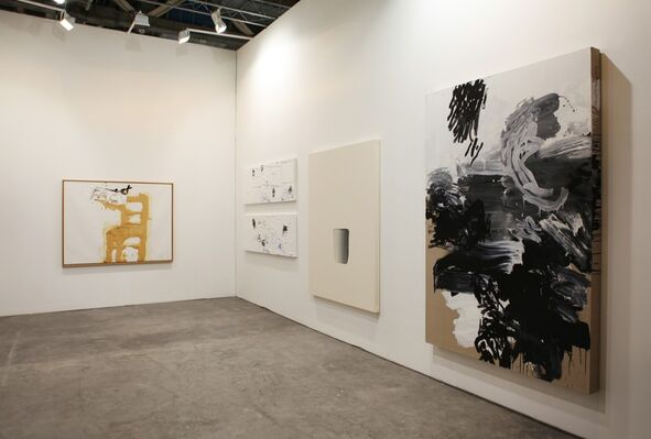 Mo J Gallery at Art Stage Singapore 2016, installation view