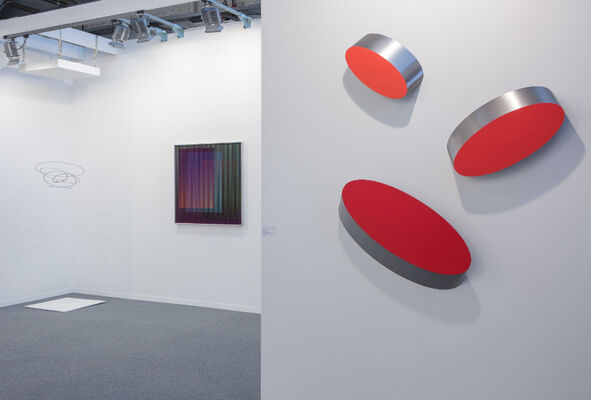 Galerie Denise René at Art Brussels 2016, installation view