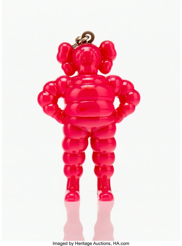 KAWS, 'Chum Keychain (Pink)', 2009, Other, Painted cast vinyl, Heritage Auctions