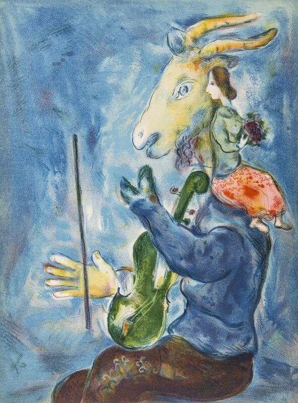 Marc Chagall, 'Le Printemps', 1938, Print, Lithograph printed in colours, Forum Auctions