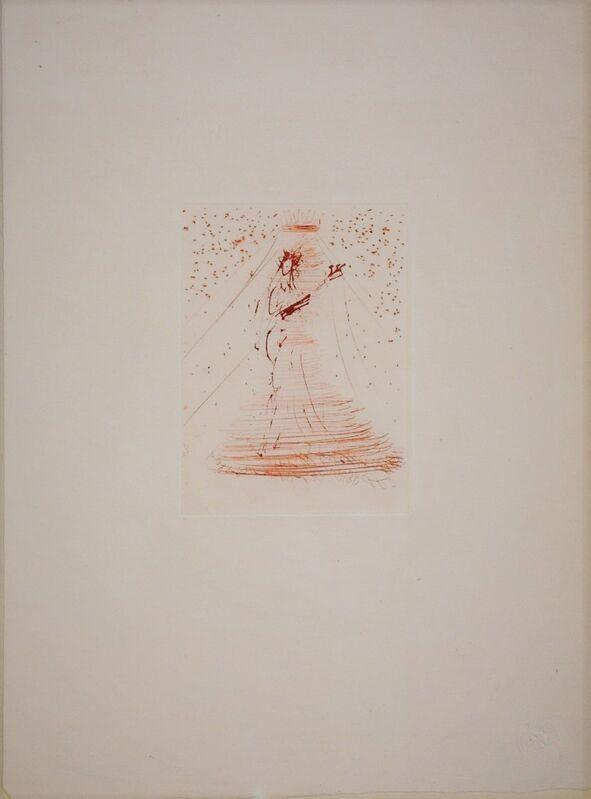 Salvador Dalí, 'Les Amours de Cassandre. Sepia', 1968, Print, Drypoint in sepia on Japon paper, Samhart Gallery