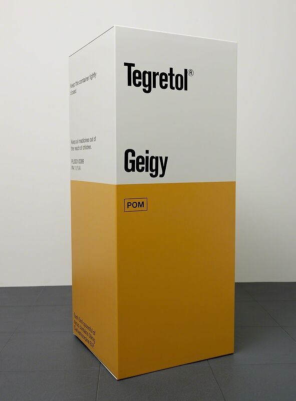 Damien Hirst, 'Tegretol 200ml syrup', 2014, Sculpture, Glass reinforced plastic and Polyurethane resin structure.2014. Edition of 30. Numbered, signed and dated in the cast., Paul Stolper Gallery