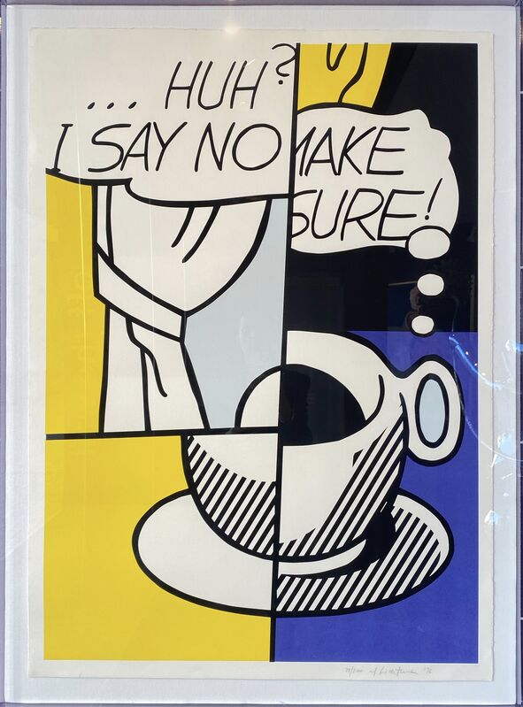 Roy Lichtenstein, '... Huh? ', 1976, Print, Limited edition serigraph on rag paper., Off The Wall Gallery