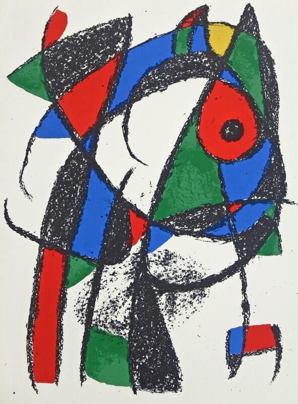 Joan Miró, 'Lithograph II no 4', 1975, Print, Color Lithograph, Hans den Hollander Prints