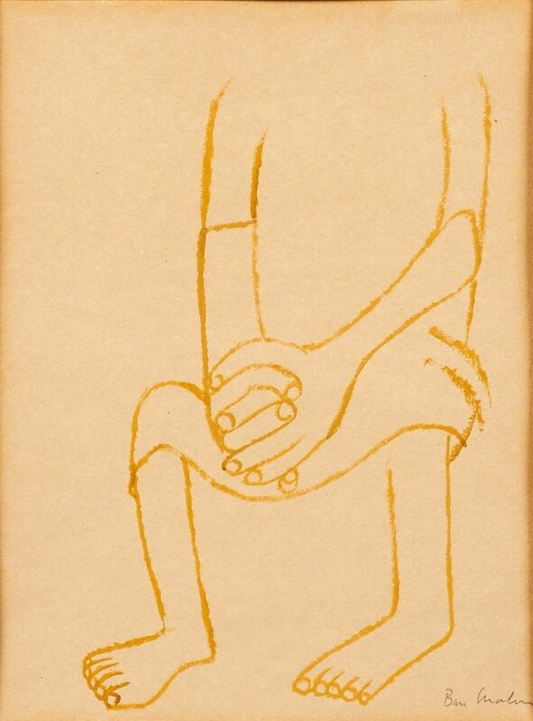 Ben Shahn, 'Untitled (Distressed Figure)', Painting, Gouache on paper (framed), Rago/Wright/LAMA