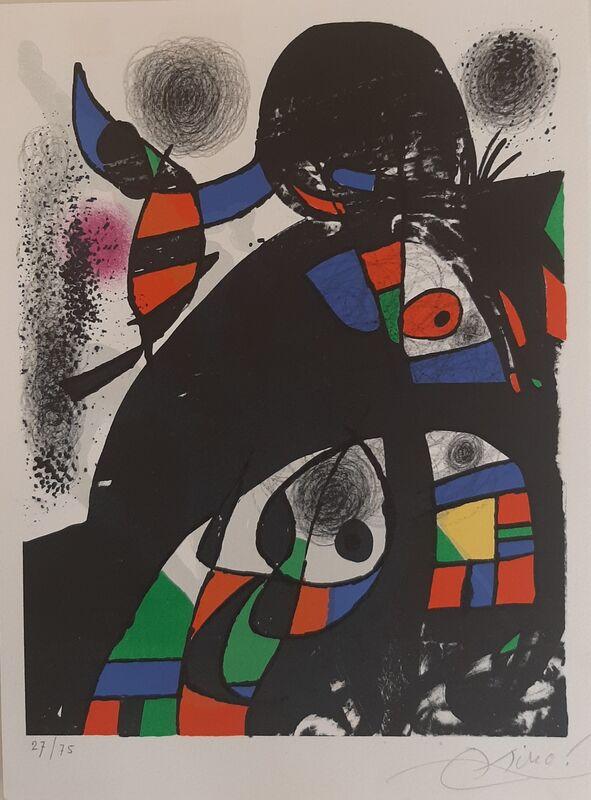 Joan Miró, 'San Lazzaro et ses amis', 1975, Print, Galeria Cortina