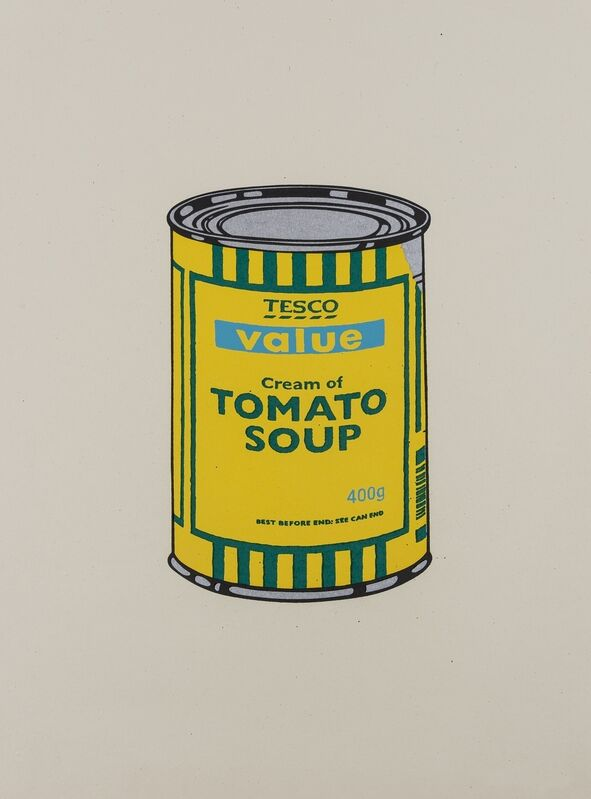 Banksy, 'Soup Can (Yellow/Emerald/Sky Blue)', 2005, Print, Screenprint in colours, Forum Auctions