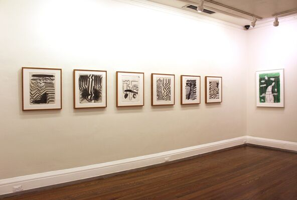 John Walker: The Sea and The Brush, installation view