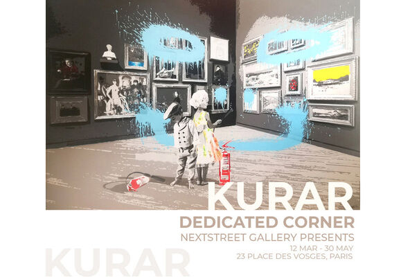 KURAR | DEDICATED CORNER, installation view