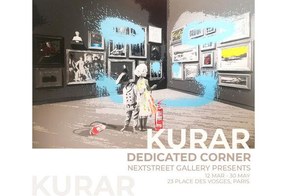 KURAR | DEDICATED CORNER, installation view