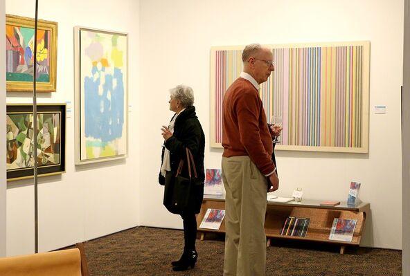 Jody Klotz Fine Art at Art Palm Springs 2019, installation view