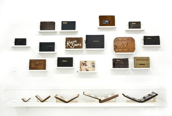 Scrapbook Love Story: Memory and the Vernacular Photo Album, installation view