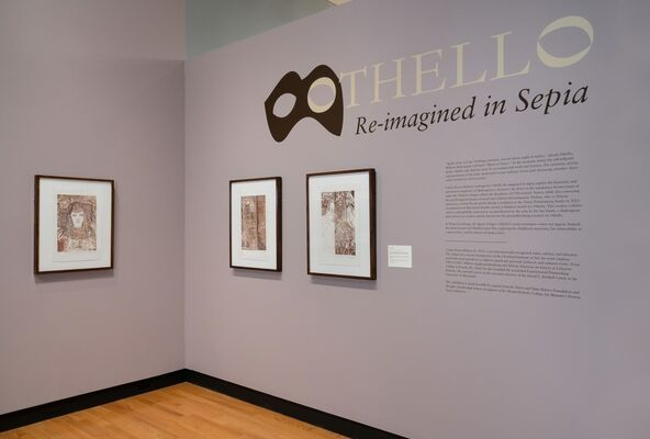 Othello Re-imagined in Sepia, installation view