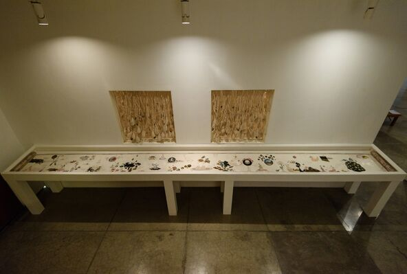 after the fall, installation view