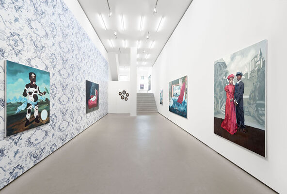 Melora Kuhn: The house of her reflection, installation view