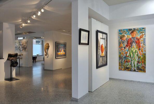 François Boisrond : Collection (1989-2005), installation view
