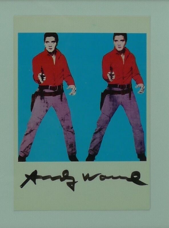 Andy Warhol, 'Double Elvis', no date, Ephemera or Merchandise, Postcard, Bengtsson Fine Art
