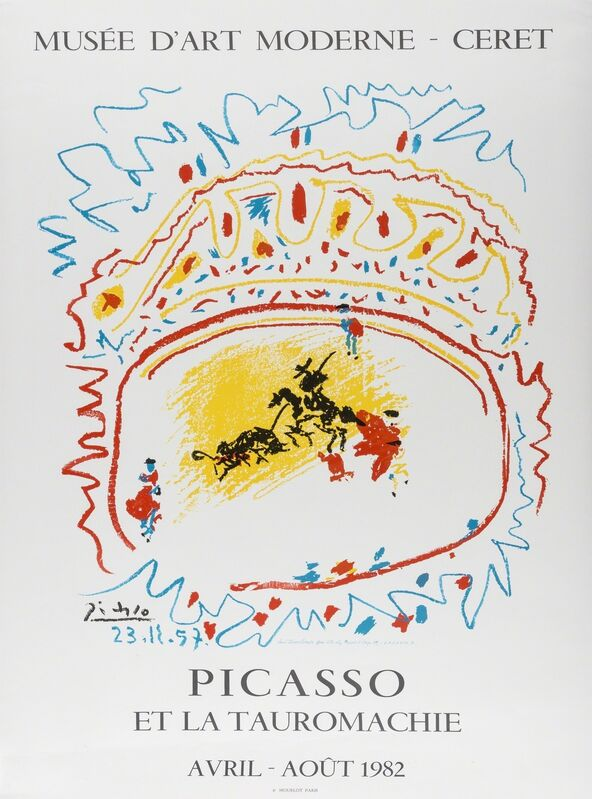 Pablo Picasso, 'Picasso et la Tauromachie', 1982, Print, Offset lithographic poster printed in colours, Forum Auctions