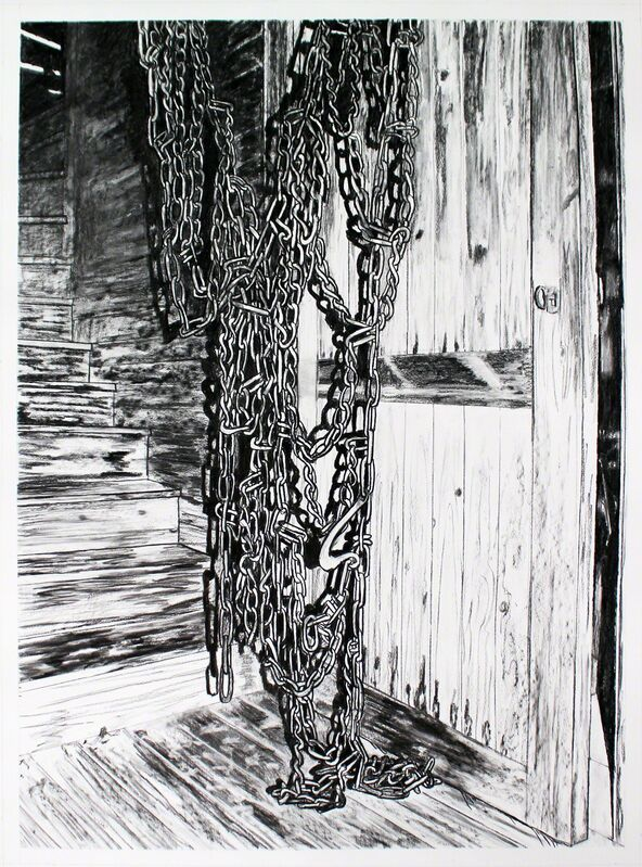 Sara-Vide Ericson, 'Dead Weight', 2016, Drawing, Collage or other Work on Paper, Charcoal on paper, V1 Gallery