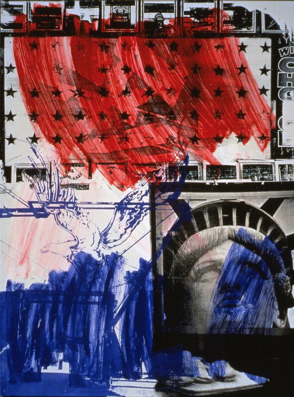 Robert Rauschenberg, 'People for the American Way', 1991, Print, 8-color lithograph/screenprint, Gemini G.E.L. at Joni Moisant Weyl