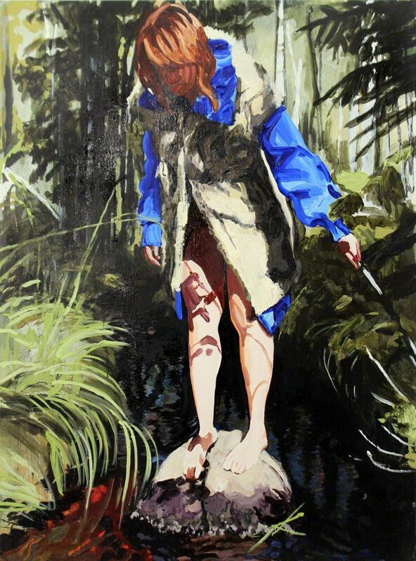Sara-Vide Ericson, 'Going Into Trance 3', 2016, Painting, Oil on panel, V1 Gallery