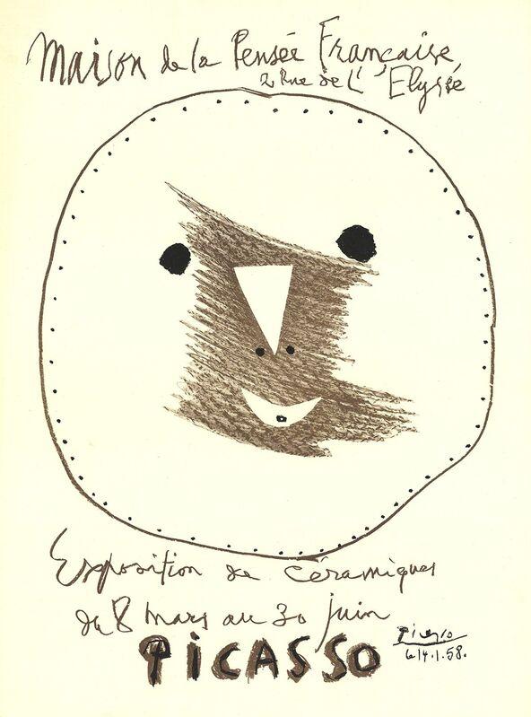 Pablo Picasso, 'Exposition de Ceramiques', 1958, Ephemera or Merchandise, Stone Lithograph, ArtWise