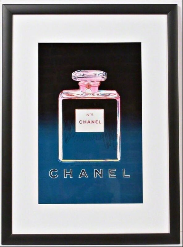 Andy Warhol, '75th Anniversary of Chanel No. 5', 1997, Print, Offset lithograph. framed., Alpha 137 Gallery Gallery Auction