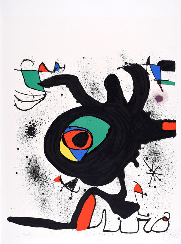 Joan Miró, 'The Graphic Works ', 1973, Print, Colour lithograph, Odon Wagner Gallery