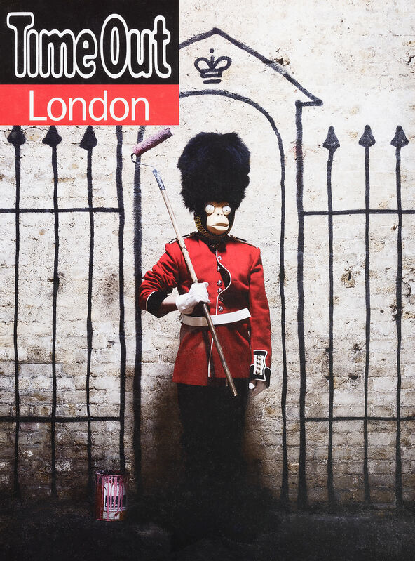 Banksy, 'Time Out London', 2010, Print, Offset lithograph in colours on paper, Tate Ward Auctions