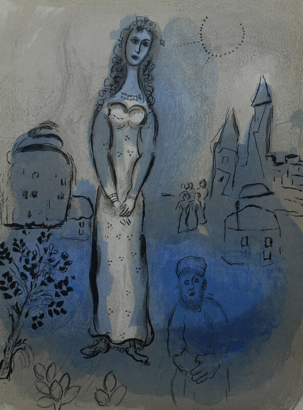 Marc Chagall, 'Esther ', 1960, Print, Lithograph, Georgetown Frame Shoppe