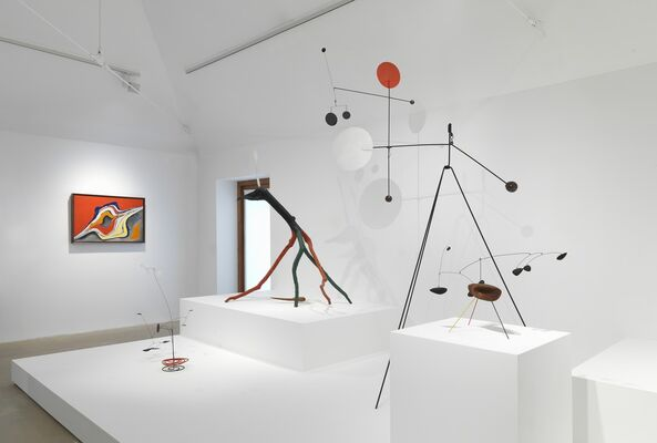 Alexander Calder. From the Stony River to the Sky, installation view