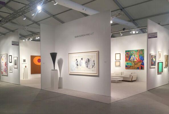 Mark Borghi Fine Art at Art Miami 2018, installation view