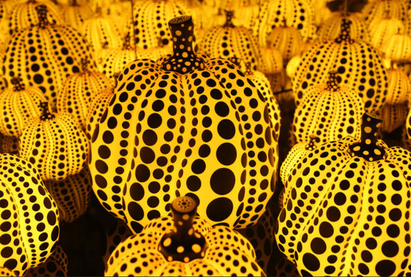 Yayoi Kusama: All the Eternal Love I Have for the Pumpkins, installation view