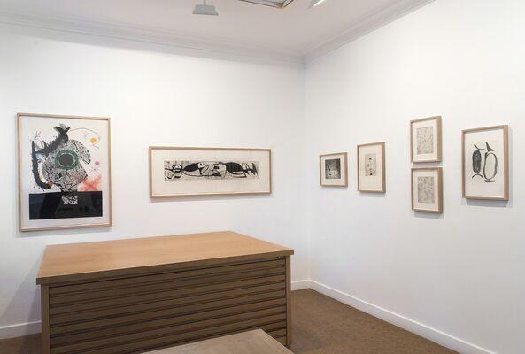 Prints, installation view